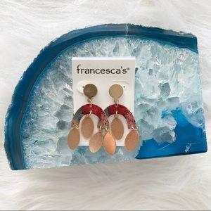 NWT Francesca's Dangle Earrings